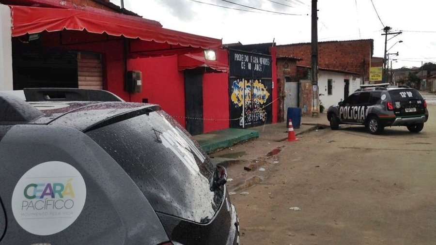 Tiroteo en Fortaleza Brasil