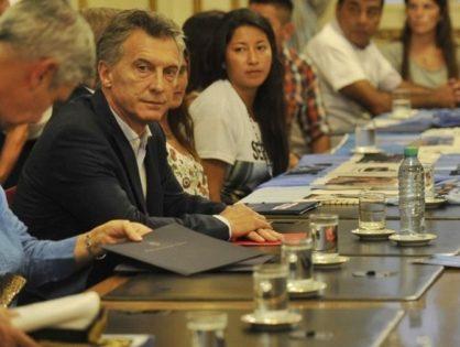 Macri se reunió con los familiares de los tripulantes del ARA San Juan