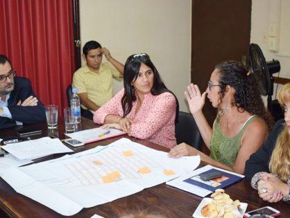 Lisandro Aguiar recibió a vecinalistas de Alto Comedero