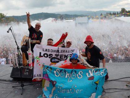 Explosión carnavalera en la Ciudad Cultural