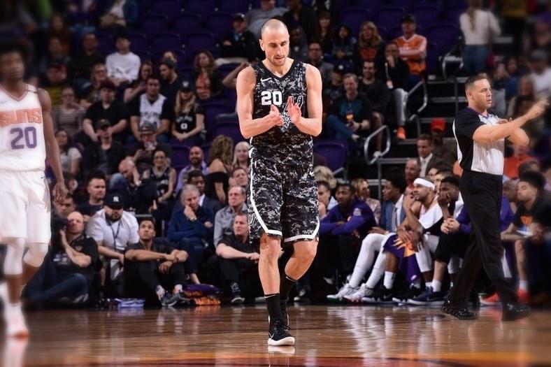 Ginóbili, triunfo y otro récord propio en los Spurs