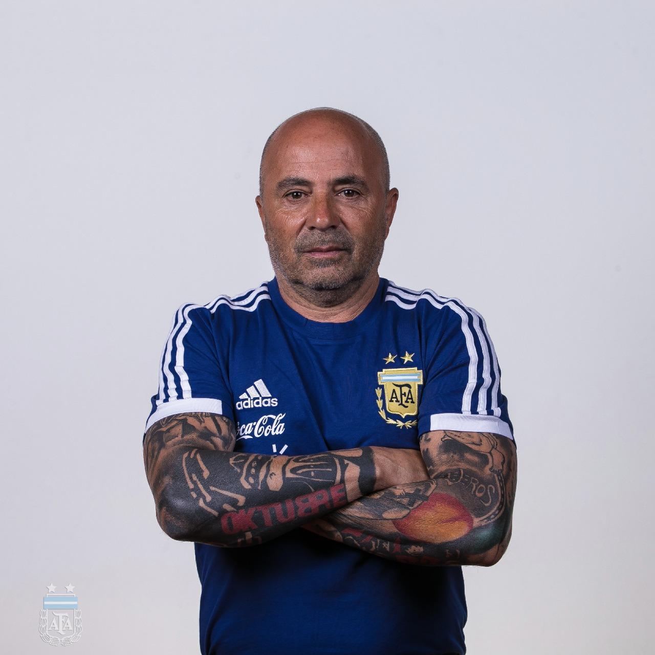 DT Jorge Sampaoli