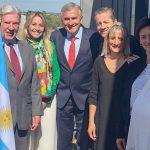 Intensa agenda en Francia del gobernador Morales