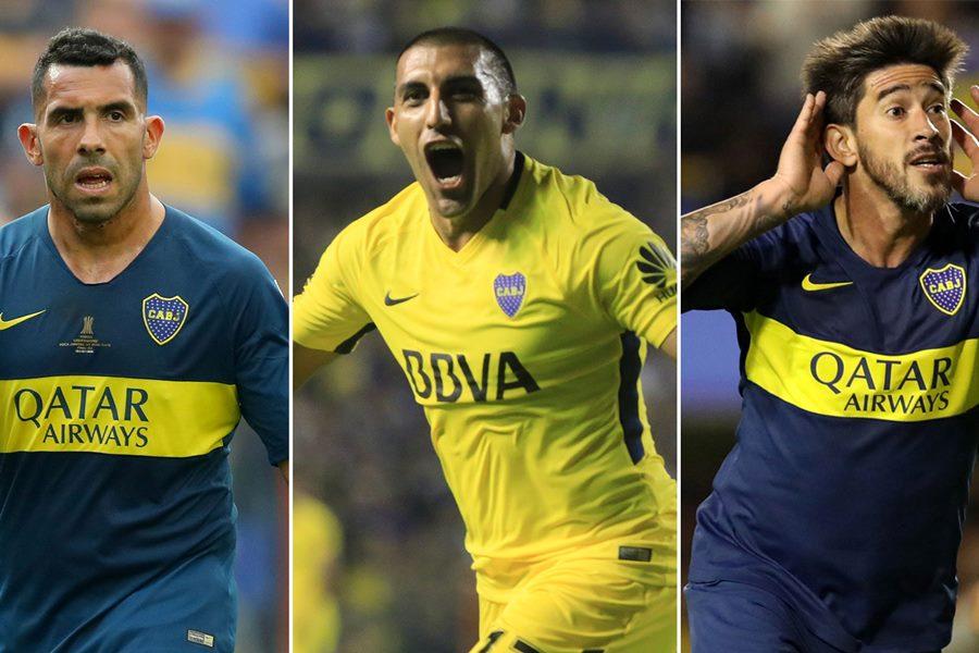 Boca, ¿sin Tevez, Wanchope Ábila ni Pablo Pérez para la final?