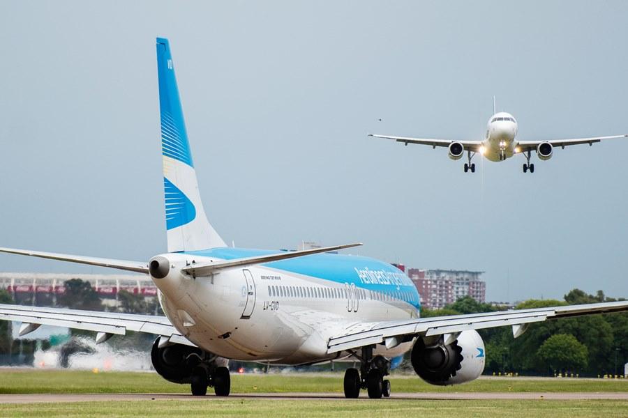 Aviones Aeroparque