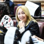 Reconocimiento del Senado a la labor de Silvia Giacoppo
