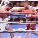 """Canelo"" Alvarez liquidó a Fielding en tres rounds"