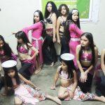 Recital de danzas árabes en el Centro Cultural Tizón