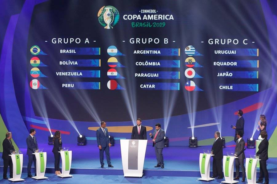 Sorteo Copa América 2019