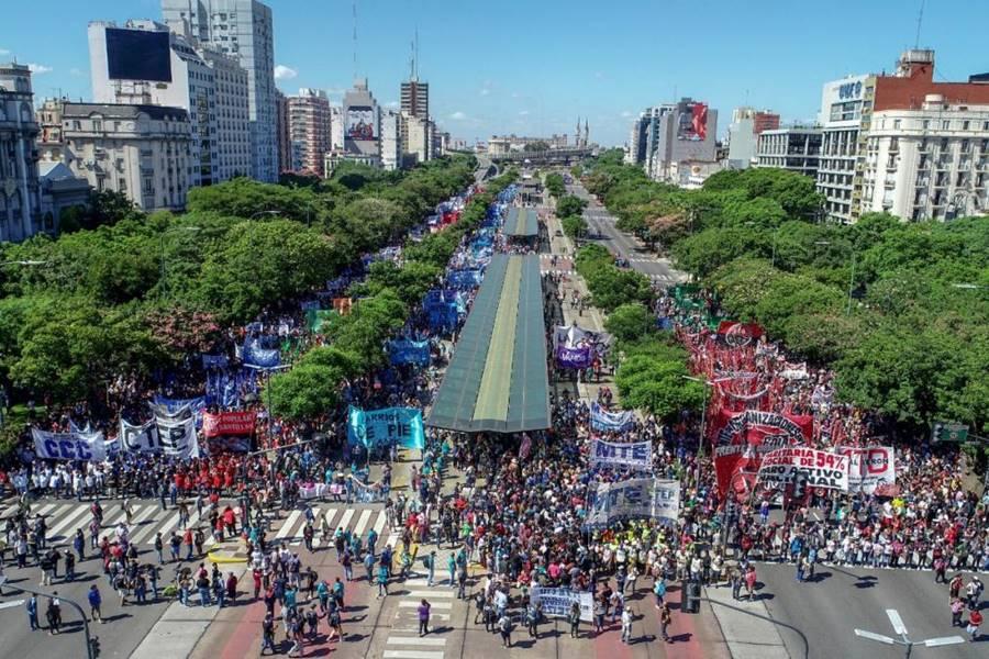 Manifestación Buenos Aires