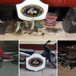 Motos y objetos robados en San Pedro fueron recuperados