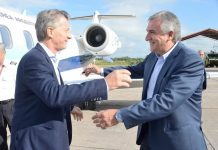 Mauricio Macri y Gerardo Morales