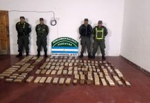 Secuestro Marihuana Gendarmeria