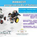 """Invitan a alumnos al Taller """"Robocyt Programando el Futuro"""""""
