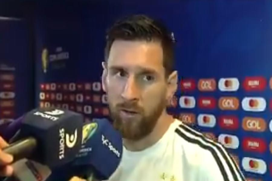 Messi declaraciones