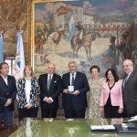 Haquim recibió al embajador de la República de San Marino