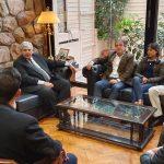 Jóvenes empresarios pymes se reunieron con el vicegobernador