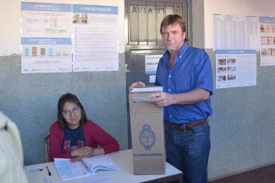 Rizzotti votando