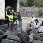 Neumáticos fuera de uso fueron recuperados en Humahuaca