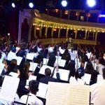 Brillante concierto de coros y orquestas del bicentenario