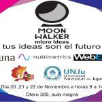 Moon Walker Micro Ideas en la Facultad de Ciencias Económicas