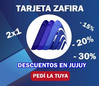 Tarjeta Zafira Jujuy