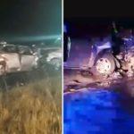 Tremendo y fatal choque frontal cerca de Pinamar: tres muertos